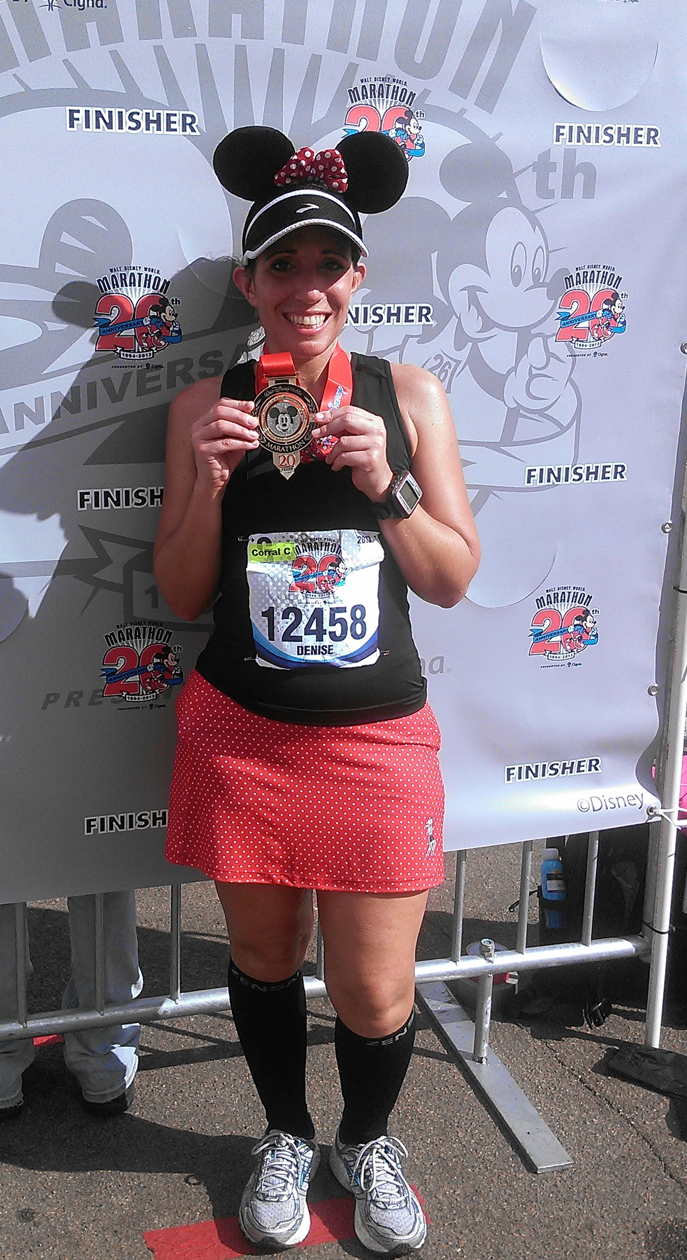 Finish Disney Marathon 2013 {Recap}