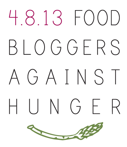 FBAH Logo Food Bloggers Against Hunger   Penne and Asparagus {Friday Food Fight}