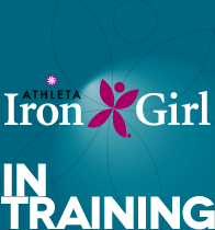 Iron Girl in Training badge Random Thoughts about Sunny and Spirited Running, Inspiring Runs and Training Harder