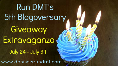 5thBlogoversary RunDMT Best Damn Birthday {Best Damn Race Giveaway}