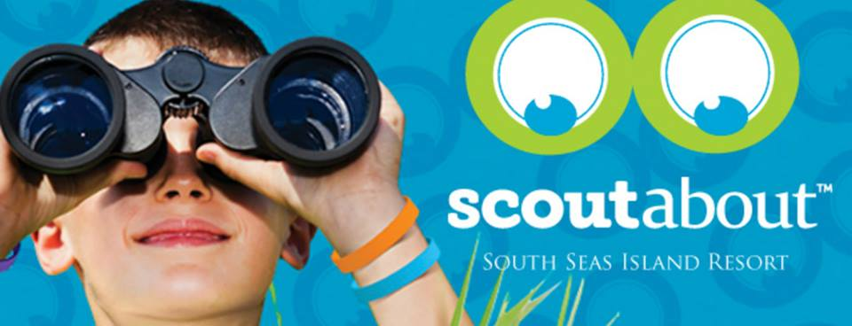ScoutAbout logo Exploring the South Seas with ScoutAbout