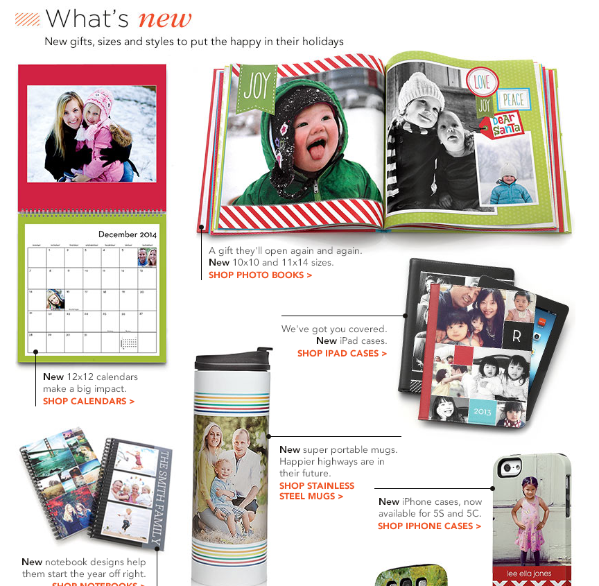 Shutterfly Photo Gifts New Holiday Card Collections and Photo Gifts from Shutterfly {Giveaway}