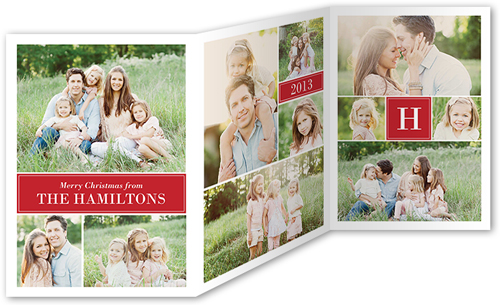TRIFOLDCARD 5X7 SharetheMemories New Holiday Card Collections and Photo Gifts from Shutterfly {Giveaway}