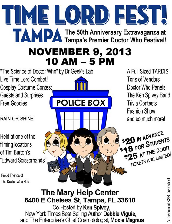 timelordfest Random Thoughts About Soggy Sick Days, a Birthday, a Time Lord Fest and UnTrack Tuesday
