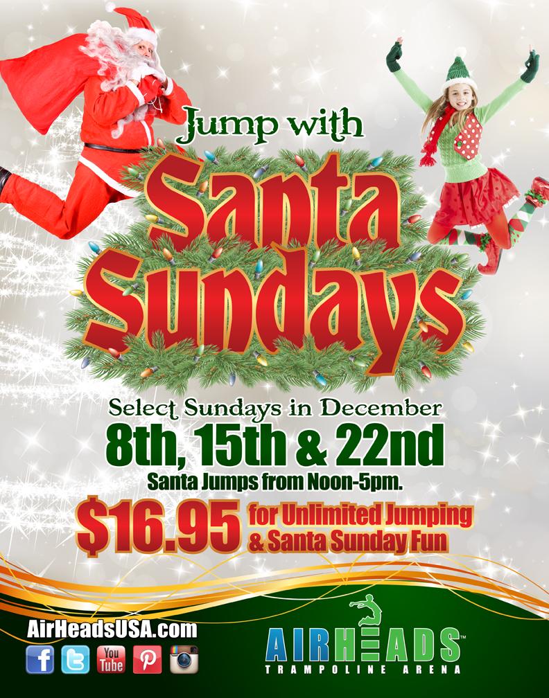 Airheads Jump With Santa