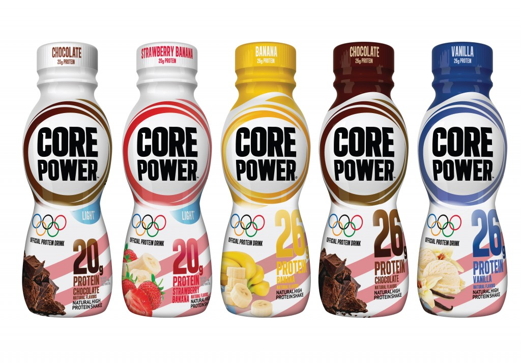 5 Olympic Bottles 1024x713 Core Power and The Protein Revolution