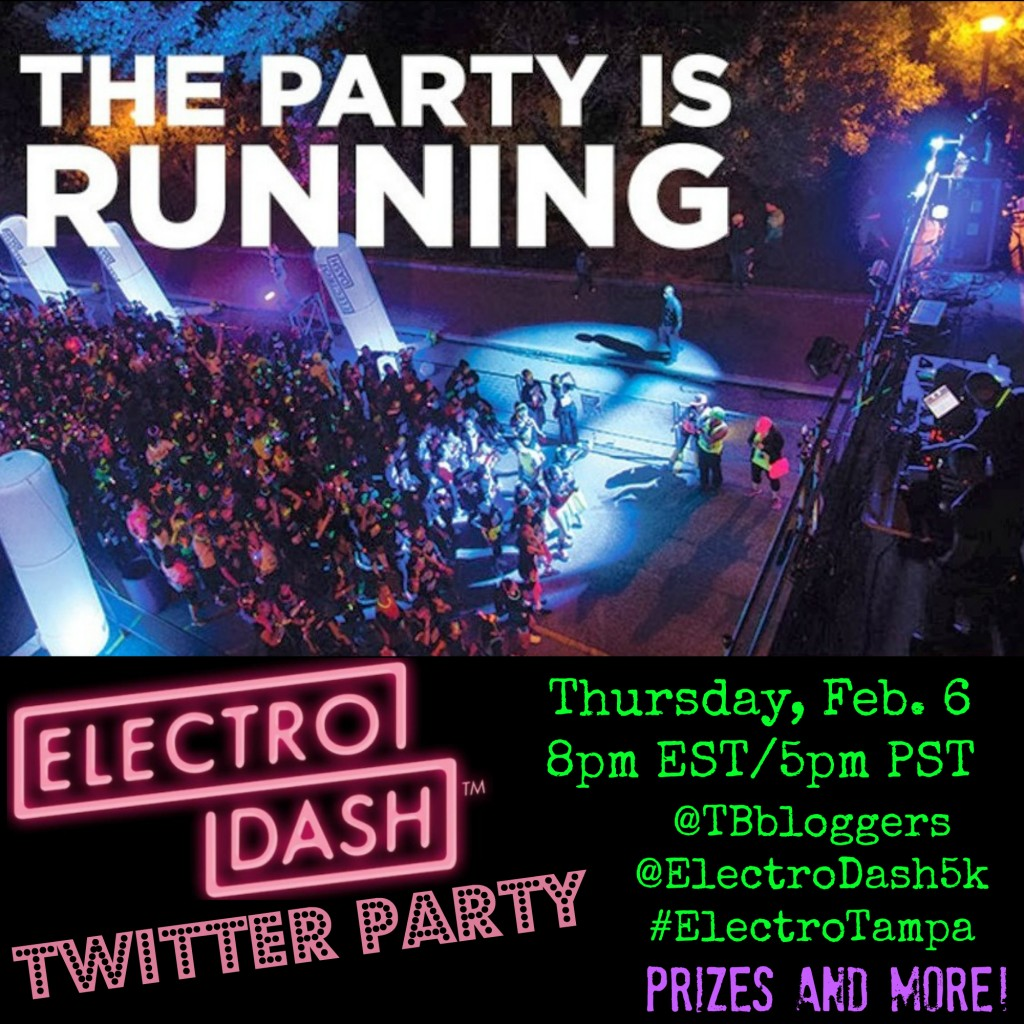 ElectroTwitterParty1 TBB 1024x1024 RANdom Thoughts About an Electrodash 5K Giveaway & Discount Code, the Big 20, Some Bridges and Some Easy Miles