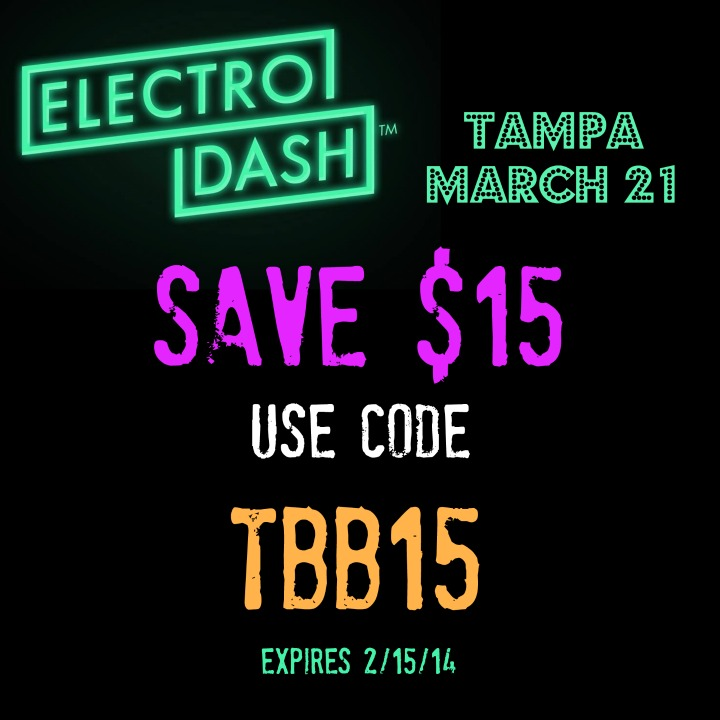 TBB15 ElectroCode RANdom Thoughts About an Electrodash 5K Giveaway & Discount Code, the Big 20, Some Bridges and Some Easy Miles
