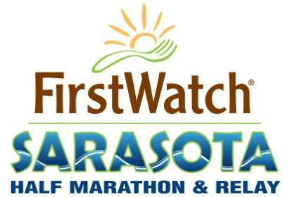 First Watch Sarasota Half Marathon Logo