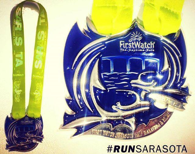 Sarasota Half Medal
