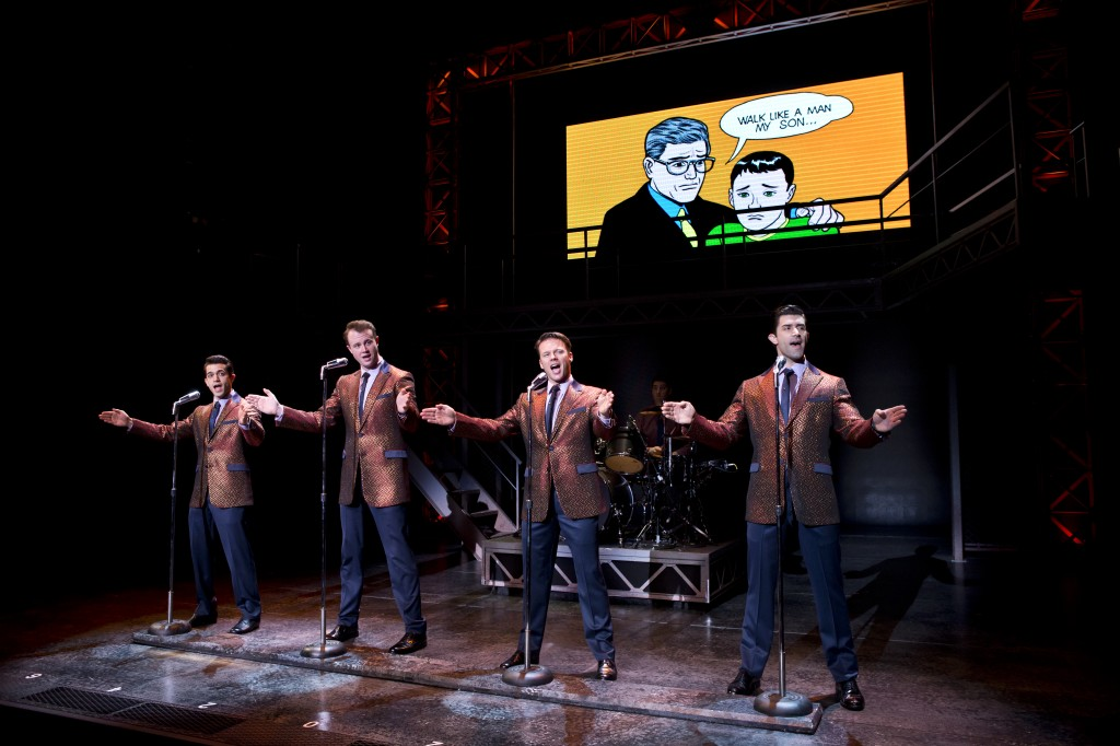 JerseyBoys4 1024x682 Jersey Boys Just Too Good to Be True