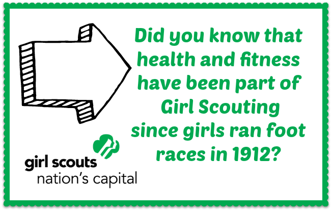 GirlScouts Fact Join the Girl Scouts Healthy Habits Journey
