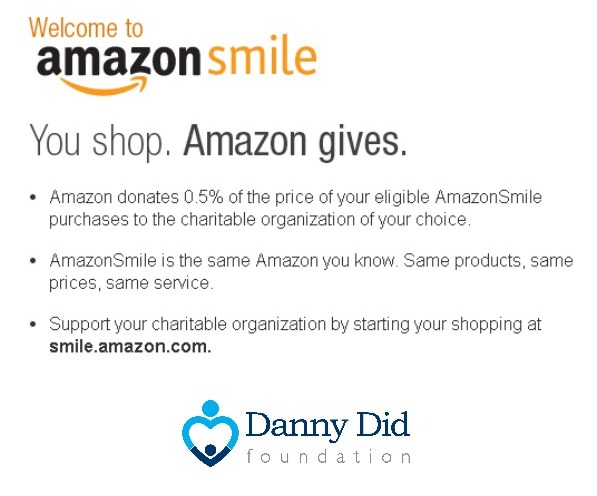 amazon smile_DannyDid