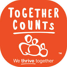 together counts logo Join the Girl Scouts Healthy Habits Journey
