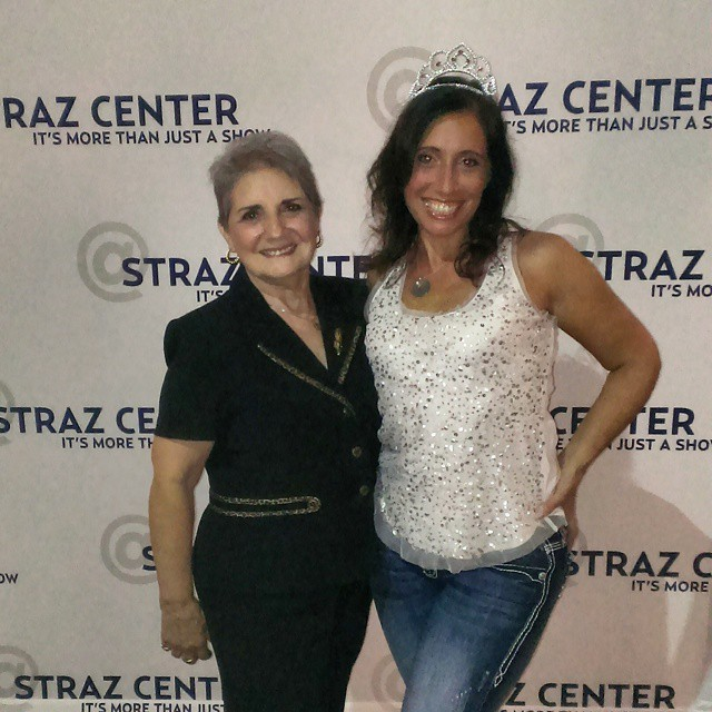 Me and my mom @CinderellaBway at the @StrazCenter! @tbbloggers #CinderellaTour #Cinderella #redcarpet #smile #happy #Tampa #TampaBayBloggers #thatssotampa