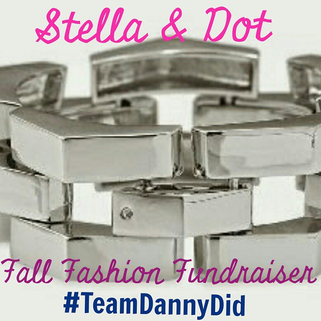 TOMORROW EVENING join me for my first online #StellaDot #Fall #Fashion #Fundraiser to benefit #TeamDannyDid! Join the fun on Facebook at 7pm. Search