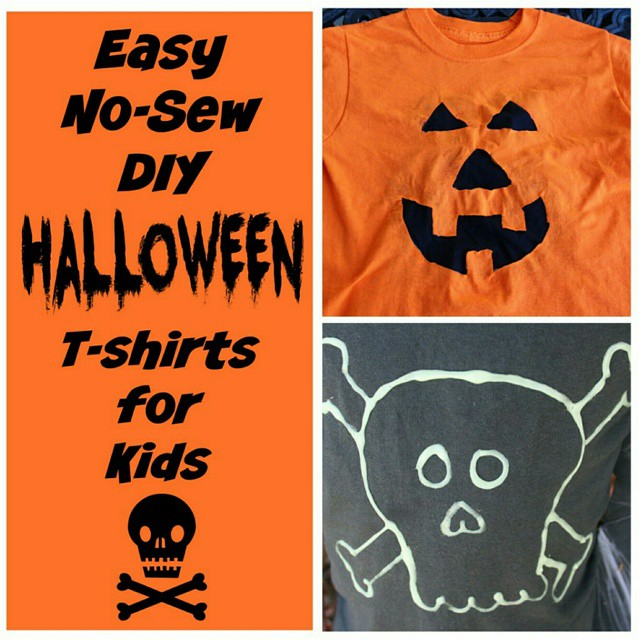 On #RunDMT today, I shared two fun, frugal and simple #DIY kids t-shirts that you could make TONIGHT and be ready for #Halloween. Link in my profile.