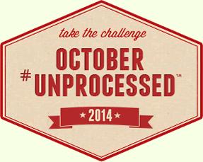 October Unprocessed Challenge