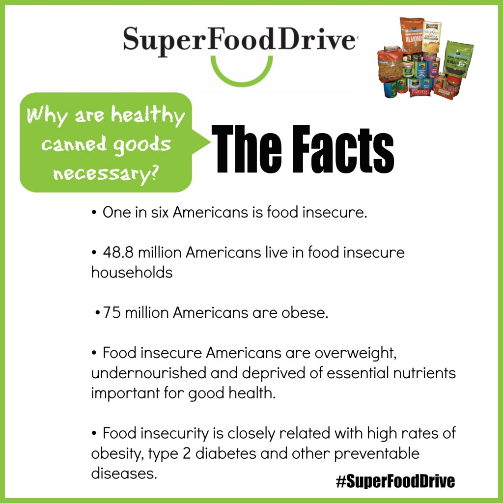 Healthy Canned Goods SuperFood Drive