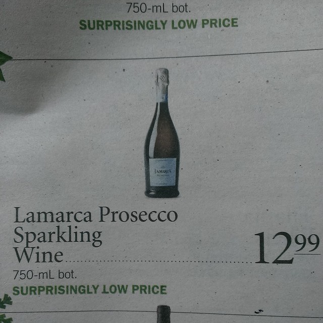 My favorite #Prosecco is on sale at @publix. Hint...Hint... #gifts #giftguide #Christmas #Christmas2014 #Publix