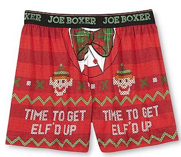 Elf'd Up  Joe Boxer #ShowYourJoe