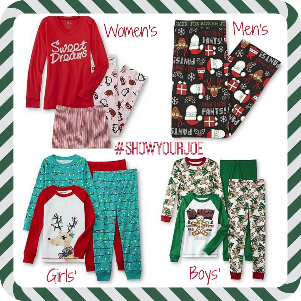 Joe Boxer Pajamas #ShowYourJoe