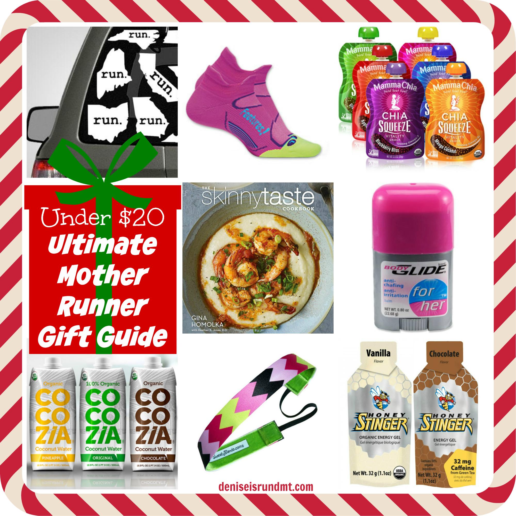 Under 20 Runner Gift Guide