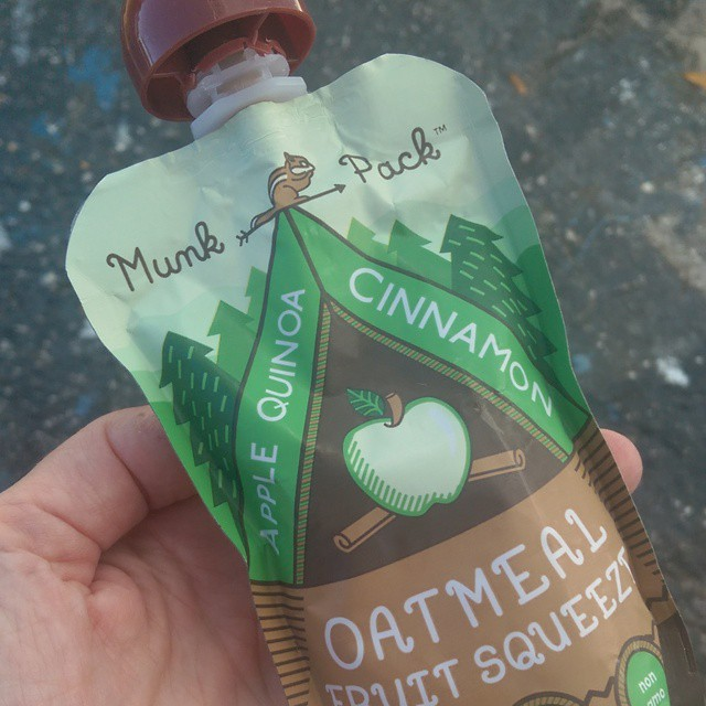 Too many errands so it's a lunch on the go today. It's an #apple #quinoa #cinnamon @munkpack kind of delicious day. #munkpack #yummy #healthy #food #snack #myFFmeal #FFobsession