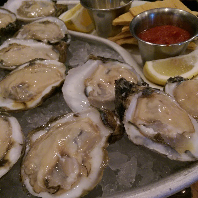 Plump and gorgeous oysters!  #UleleTBB Who knew oysters could be pretty?! @UleleTampa @tbbloggers #nomnomnom #yummy #foodporn