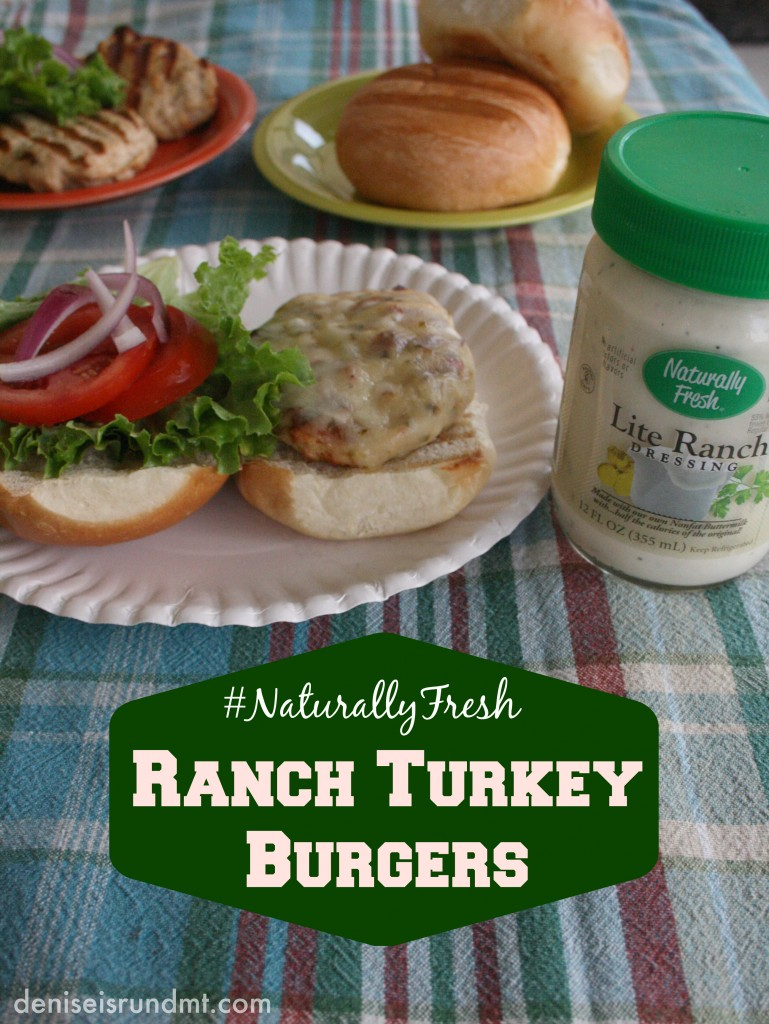 NaturallyFresh Ranch Turkey Burgers - Run DMT
