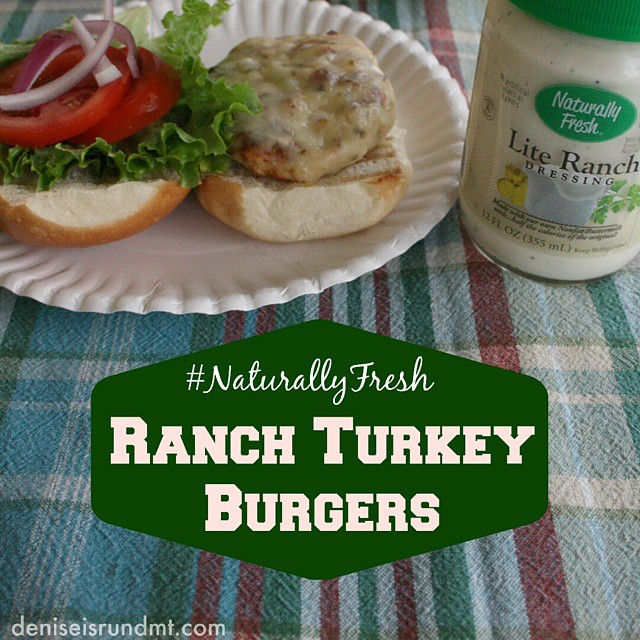 Are you ready for the #BigGame this Sunday? What's on your #SuperBowl menu? These #NaturallyFresh Ranch Turkey Burgers make a great better-for-you choice than the typical tailgating burger. See the full recipe on my #blog, #RunDMT. Link in my profile. #sponsored #ad #food #foodporn #foodpornindex #yummy #healthy #nomnomnom #myFFmeal