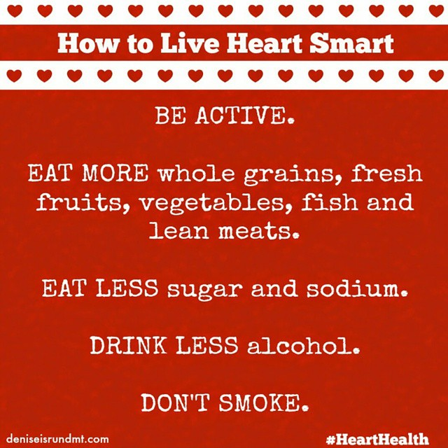 Wrapping up the last few days of February with a #hearthealth reminder. If you resolved to live a healthier lifestyle this year, remember regular cholesterol screenings are part of healthy living. Schedule a physical and make the steps to