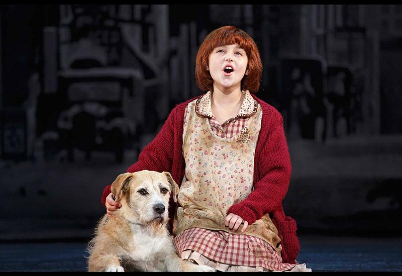 Issie as Annie
