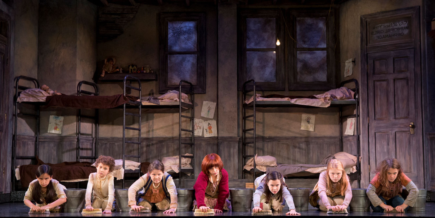 Ten Life Lessons I Learned From Annie The Musical Run Dmt