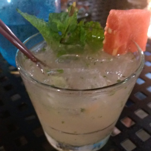How beautiful is this cocktail?! It's a @CaneVodka Weeki Wachee Watermelon Cooler and it has me craving summer. #GetyourEATSon #Cane Vodka #DrinkLocal #SunshineMoonshine #TamiamiGin #USBGTB #109Proof  #TampaBayBloggers @tbbloggers