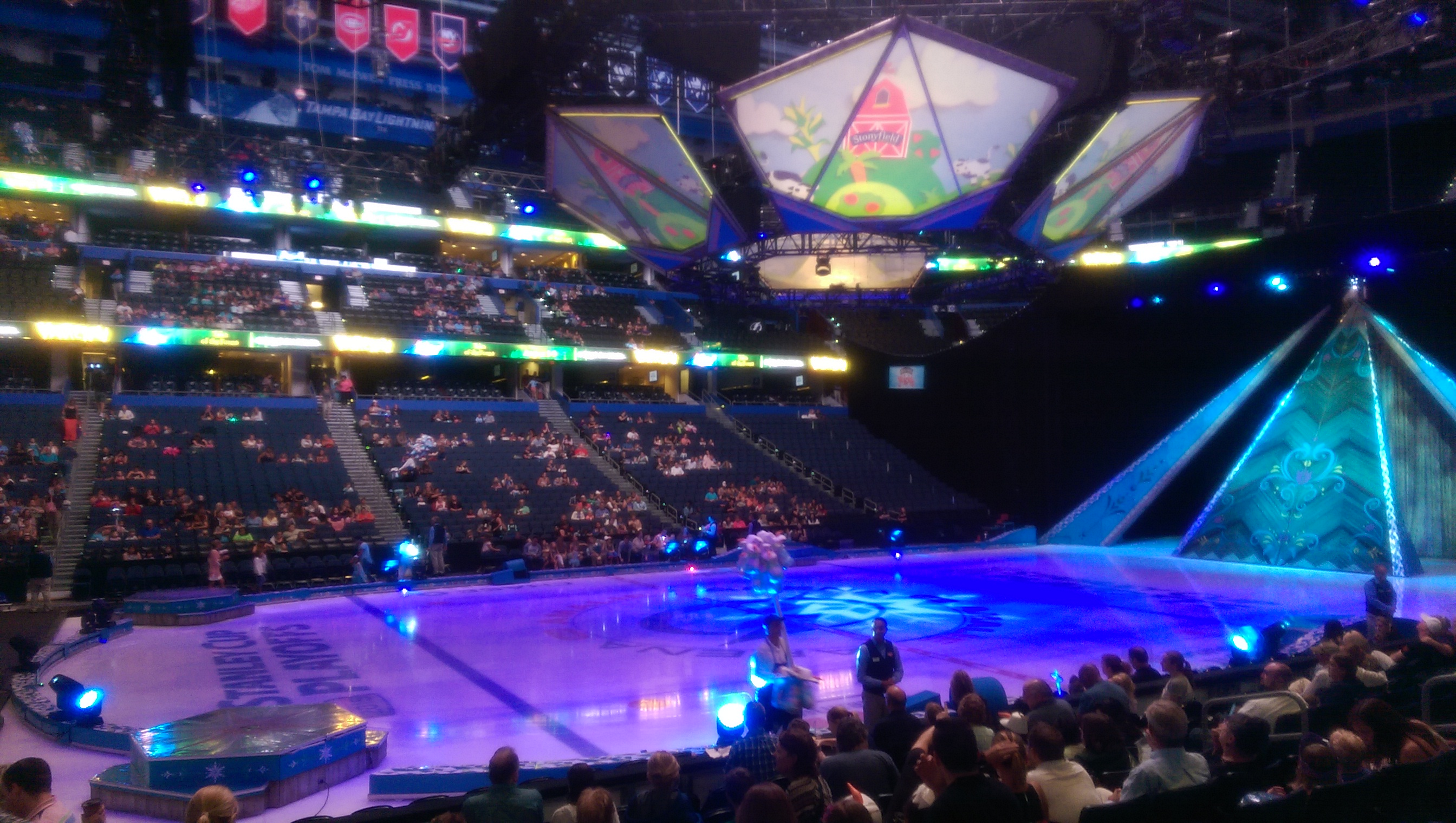 However After Thursday Eveningu0027s Opening Performance Of Disney On Ice:  Frozen, I Believe We May Not Be Alone. For The First Time In My Disney On  Ice Mommy ...