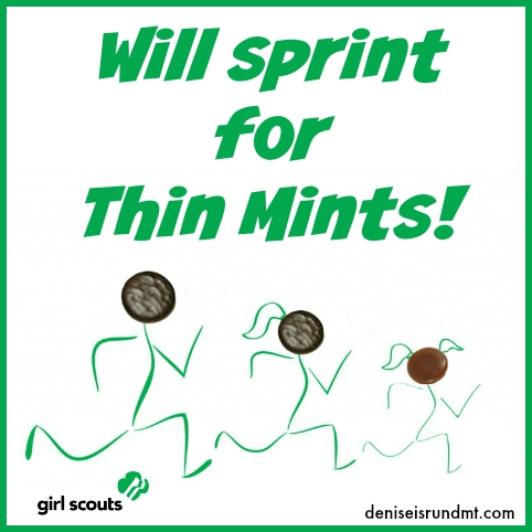 Will Sprint for Thin Mints-pin