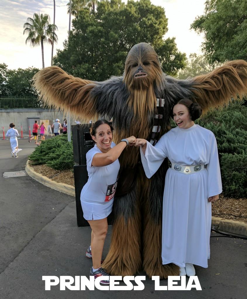 Star Wars Half Marathon - Princess Leia-Run DMT costumes
