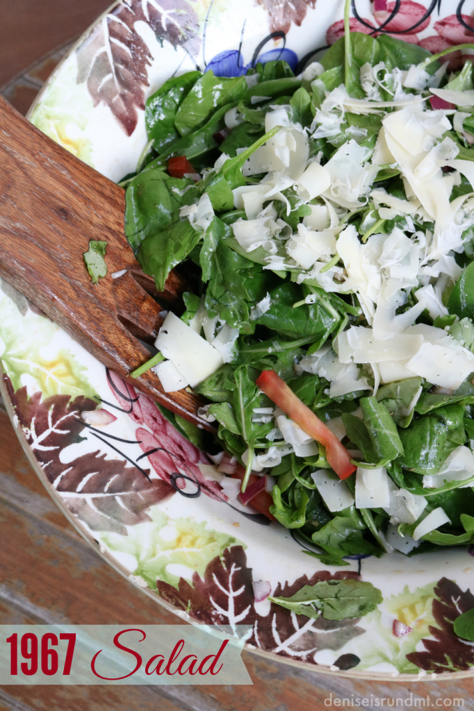 Iron Chef Allan's 1976 Salad via Run DMT