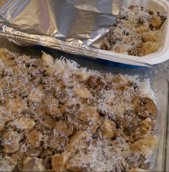 Chicken Marsala Mushroom