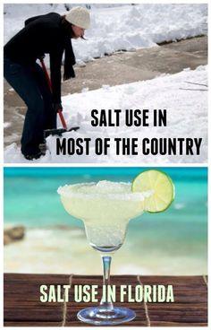 Salt use in Florida