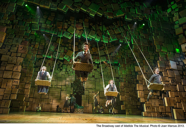 "Matilda the Musical - Swings ""When I Grow Up"""