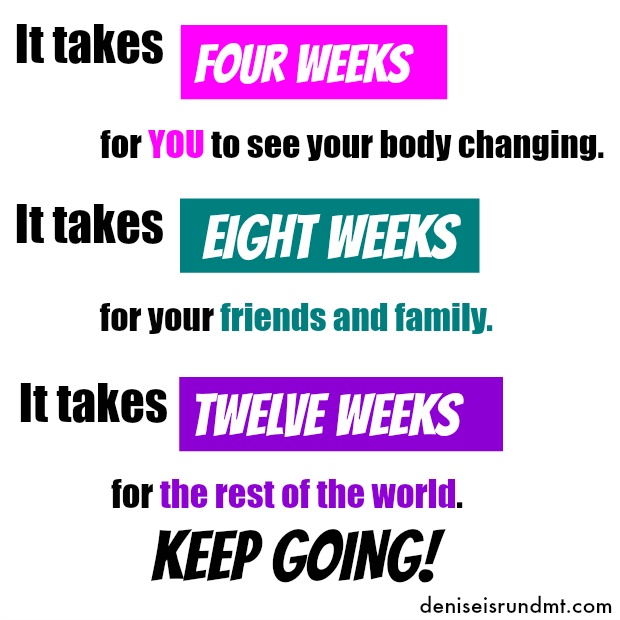 Change- Keep Going