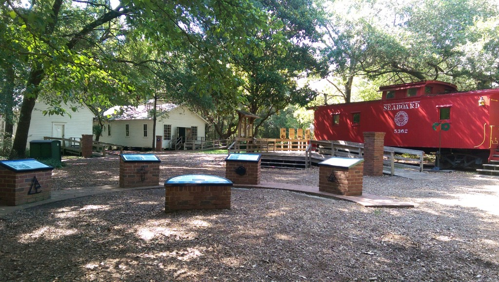 Tallahassee Museum - Caboose