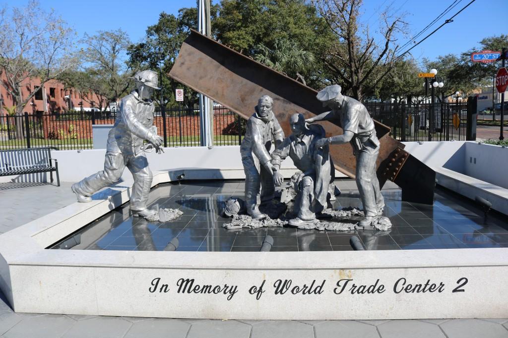 9-11 Memorial - Ybor City Tampa