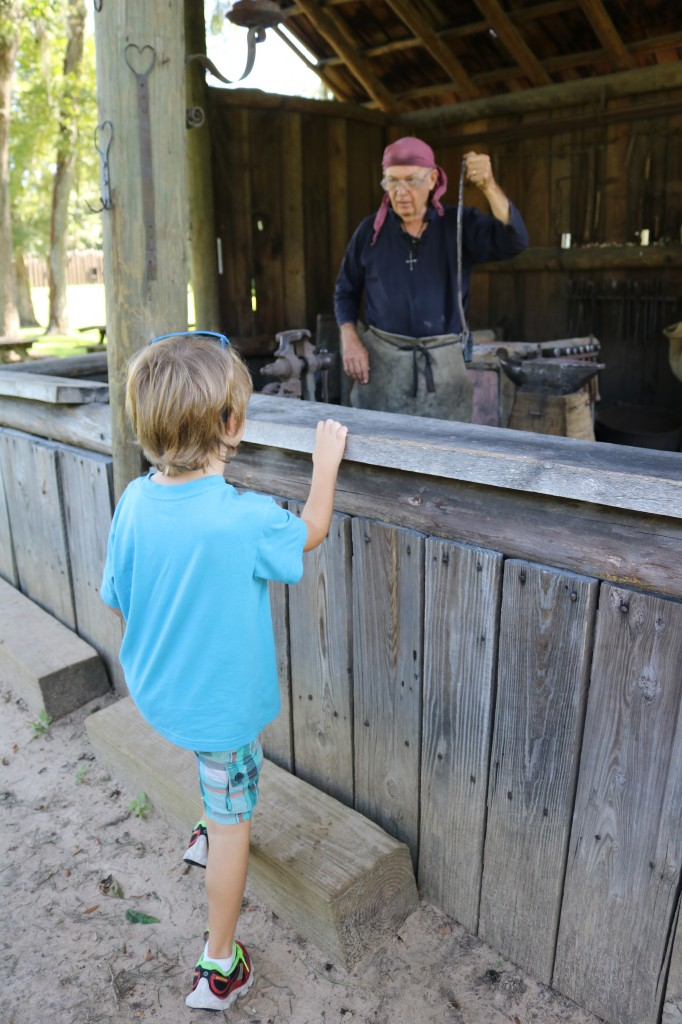 Mission San Luis - Blacksmith