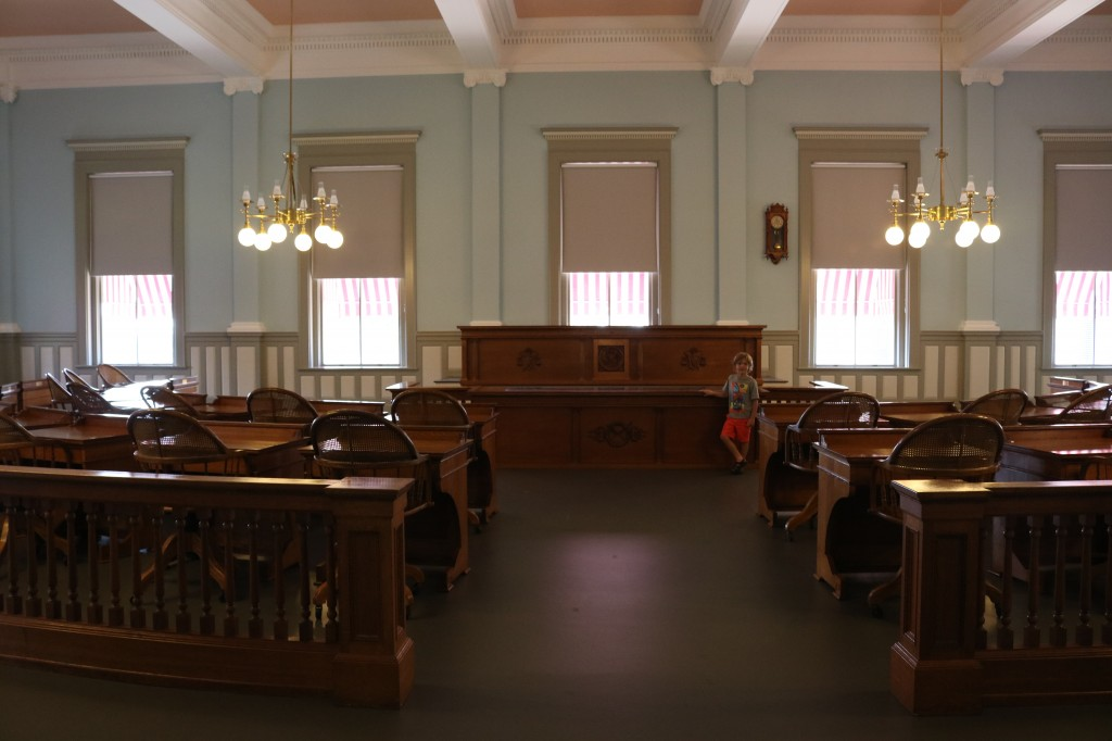 Capitol Museum - Senate