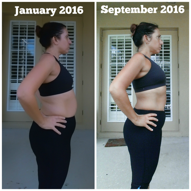 weight Loss Journey 2016 -side view