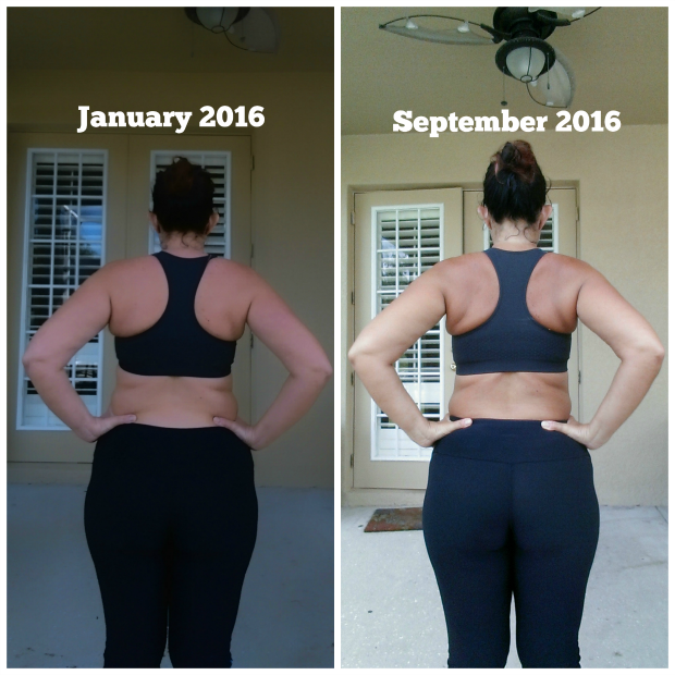 weight Loss Journey - back view