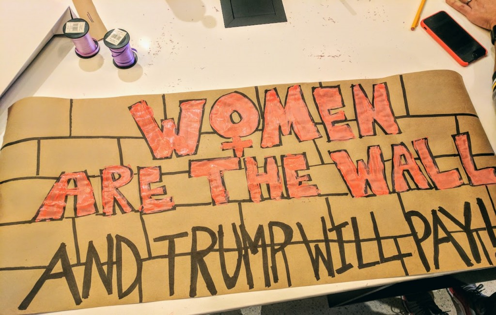 Women are the Wall - TRump will pay